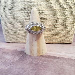 18k gep eye ring